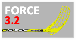 force new ico FLOORBALL STICKS