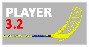 player new ico FLOORBALL STICKS