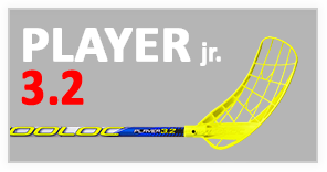 player new jr ico FLOORBALL STICKS